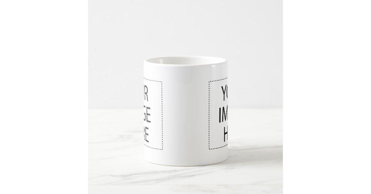 morphing mug see through 11oz coffee template zazzle. Black Bedroom Furniture Sets. Home Design Ideas