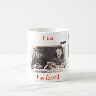 Morphing Mug / Time has flown!