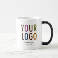 Morphing Mug with Company Logo Branding No Minimum
