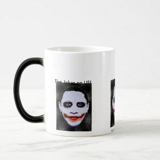 Morphing Obama Magic Mug