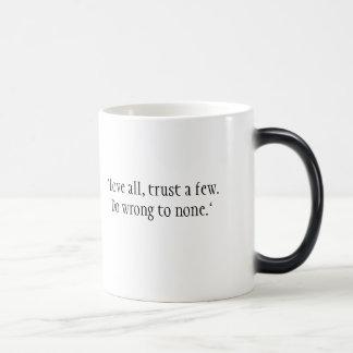 Morphing Shakespeare Mug