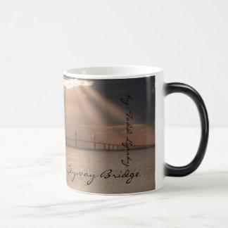 Morphing Sunshine Skyway Coffee Cup Mug