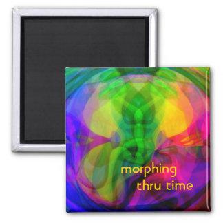 Morphing Thru Time Magnet