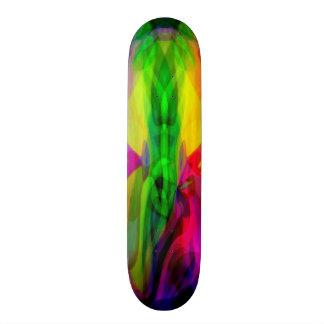 Morphing thru Time Skateboard