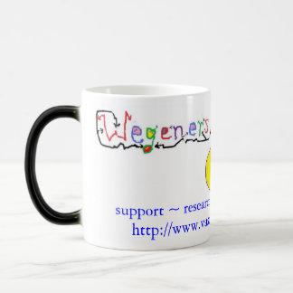 Morphing Wegener's granulomatosis support mug
