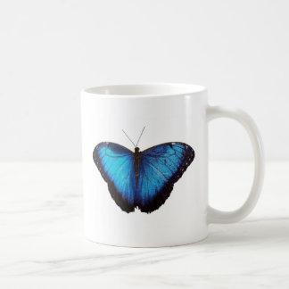 Morpho azul Butterflie Taza De Café