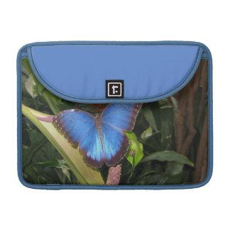 Morpho azul Peleides Fundas Macbook Pro