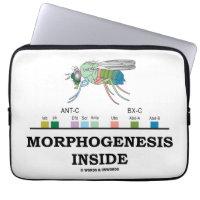 Morphogenesis Inside (Drosophila Homeobox Genes) Laptop Computer Sleeves