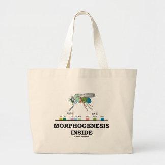 Morphogenesis Inside (Fruit Fly Drosophila Genes) Canvas Bags