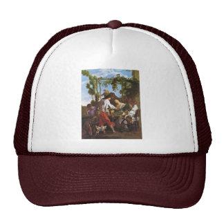 Morraspiel Outdoors By Johann Liss (Best Quality) Trucker Hat