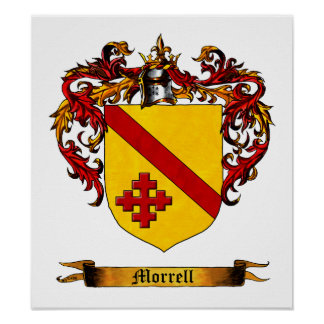 Morrell Shield / Coat of Arms Poster