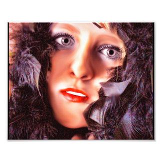 Morrigan, diosa de los cuervos fotografía