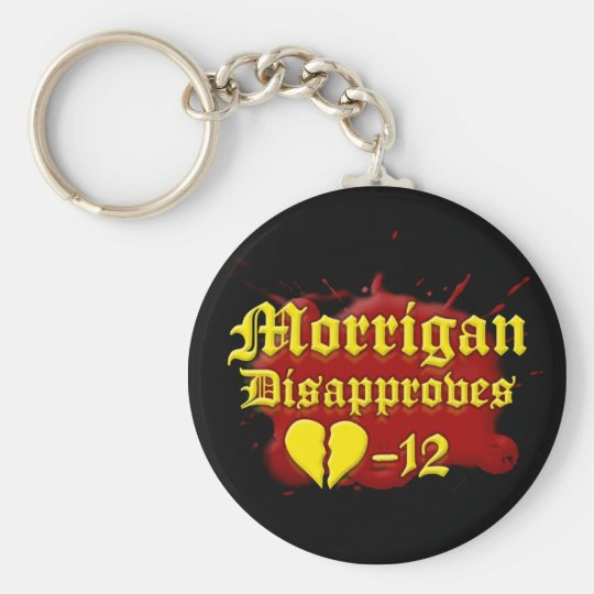 Morrigan Disapproves Keychain