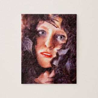 Morrigan, Goddess of the Crows Jigsaw Puzzle