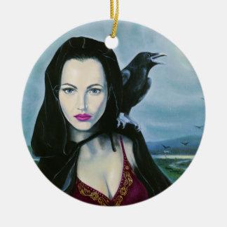 """Morrigan"" Goddess Ornament / Pendant"