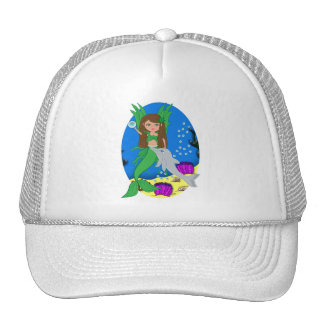 Morrigan the Green Merfaery and Dolphin Hat