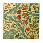 """Morris - Autumn Flower Tile<br><div class=""""desc"""">William Morris vintage pattern,  Autumn Flower</div>"""