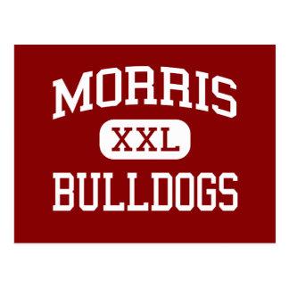 Morris - Bulldogs - High School - Bronx New York Postcard