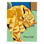 Morris Cat Postcard