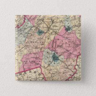 Morris County, NJ Pinback Button