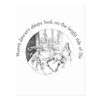 Morris Dancer s Look On The Bright Side Of Life Postcards