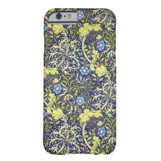 Morris de Guillermo del vintage de la alga marina Funda De iPhone 6 Barely There