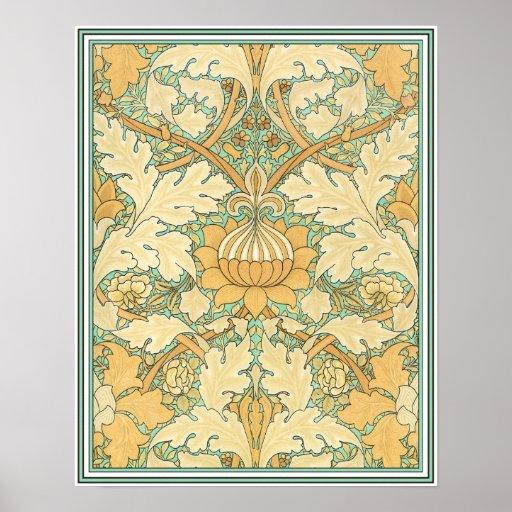 Morris Design Print