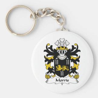 Morris Family Crest Keychain