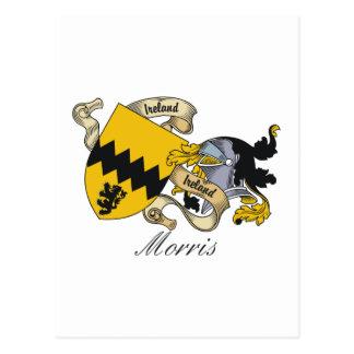 Morris Family Crest Post Card