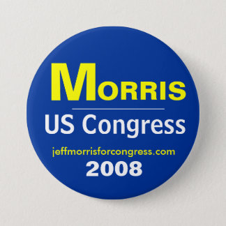 Morris For Congress Button