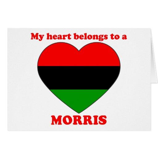 Morris Greeting Card