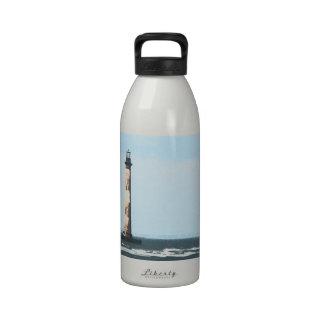Morris Island Art Deco, Charleston, SC Reusable Water Bottle