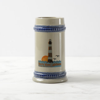Morris Island Lighthouse. Beer Stein