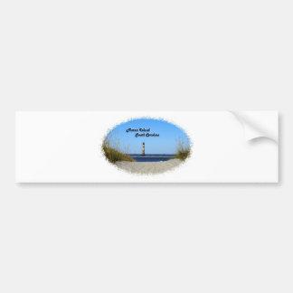 Morris Island -Lighthouse Car Bumper Sticker