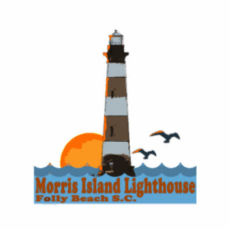 Morris Island Lighthouse Cut Out