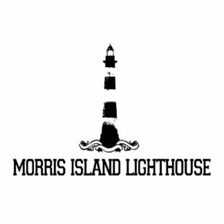 Morris Island Lighthouse Photo Cut Outs