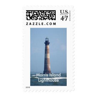 Morris Island Lighthouse Postage Stamp
