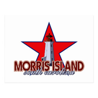 Morris Island Lighthouse Postcard