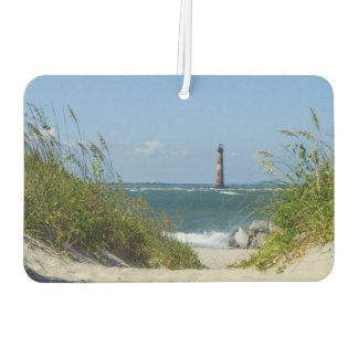 Morris Island Lighthouse Walkway Car Air Freshener
