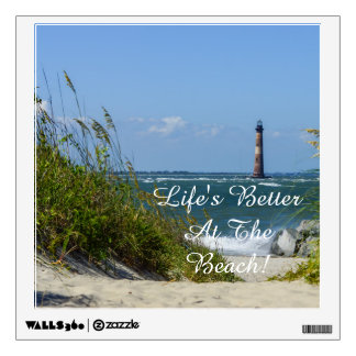 Morris Island Lighthouse Walkway Wall Sticker