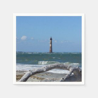 Morris Lighthouse And Tree Remains Napkin