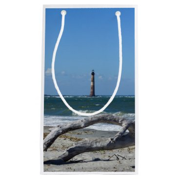 Morris Lighthouse And Tree Remains Small Gift Bag