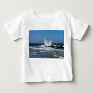 Morris Lighthouse Splash Baby T-Shirt
