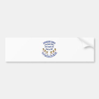 morris men are just like you and me bumper sticker