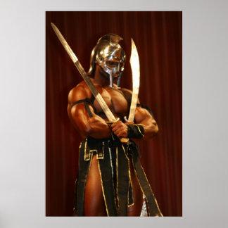 Morris Mendez as The Gladiator Poster