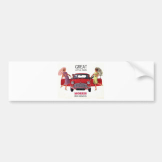 Morris Mini Minor 1963 Bumper Sticker
