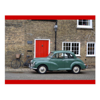Morris Minor Postcard