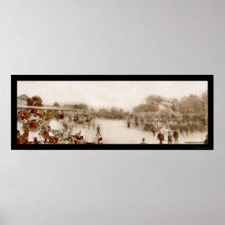 Morris Park Race Track Photo 1903 Poster