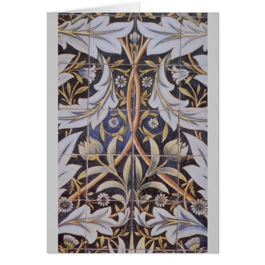 Morris tiles de Morgan Card