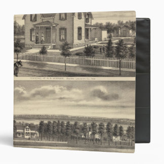 Morrison and Greenamyre, Nebraska 3 Ring Binder